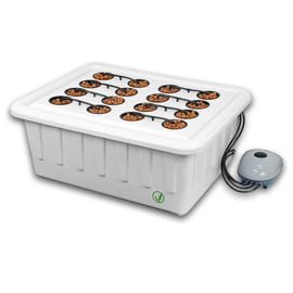 SuperPonics 16 Plant Hydroponics Growing System