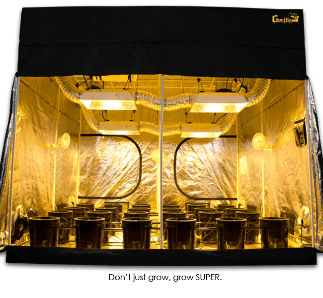 SuperCloset 9x9 SuperRoom Hydroponic Grow Tent