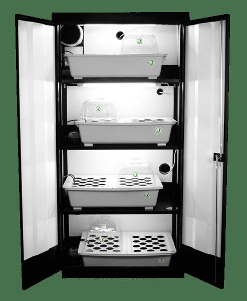 SuperCloset Clone Machine 200-Plant Clone Propagation System