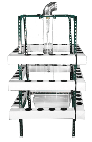 Supercloset 5x5 Buddha Box 400 W Hydroponic Vertical Grow System