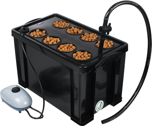 Superponics Hydroponic Growing System - 8 Plant Reservoir System