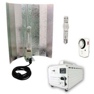 Virtual Sun 400 Watt Hood HPS/MH Grow Light System