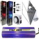 Thunder 1000 Watt Digital Dimmable Grow Light System 6″ Air Cooled