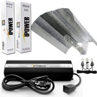 iPower 600 Watt Digital Dimmable HPS MH Grow Light System