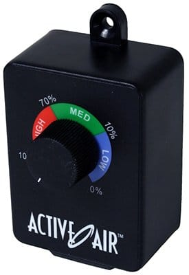 Active Air ACSC Duct Fan Speed Adjuster
