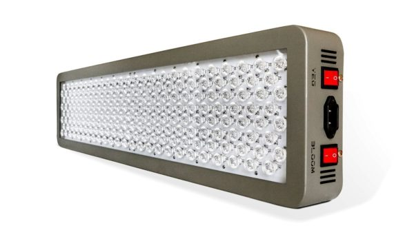 LED vs HPS - Advanced Platinum Series P600 600w 12-band LED Grow Light