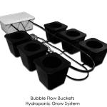BubbleFlow Buckets – Best Hydroponic Recirculating Deep Water Culture System