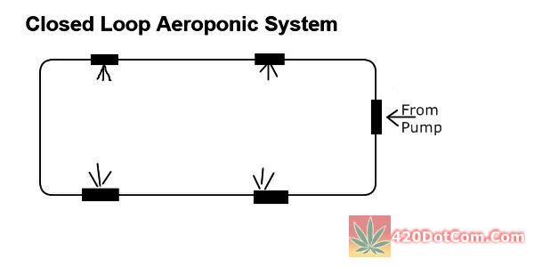 DIY Aeroponics closed loop system