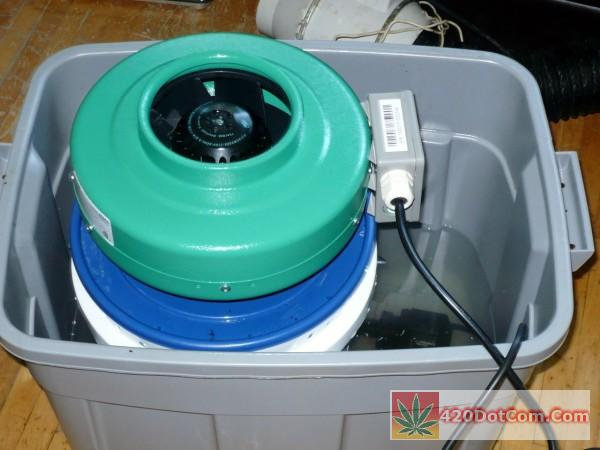 diy swamp cooler