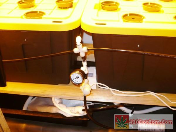 high pressure aeroponics supply lines