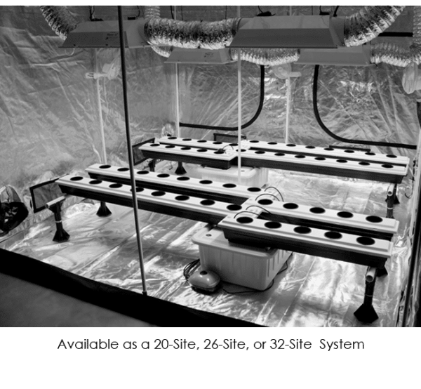 SuperPonics 20 Plant Hydroponics Growing System