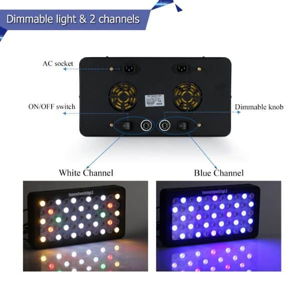 cheap led aquarium light for veg