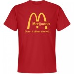 Funny McDonalds Weed T Shirt – Over 1 Billion Stoned